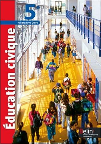 Livre gratuits en ligne Education civique 5e : Programme 2010, format compact epub, pdf