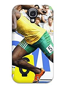 Fashion Protective Usain Bolt Running Case Cover For Galaxy S4