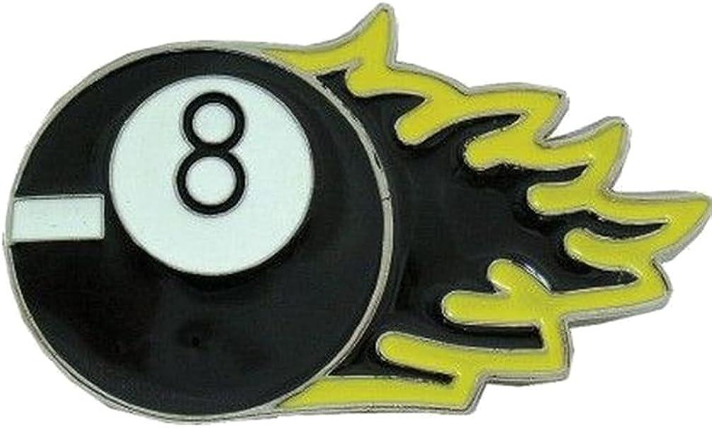 Cinturón Hebilla Bola 8 de billar: Amazon.es: Ropa y accesorios