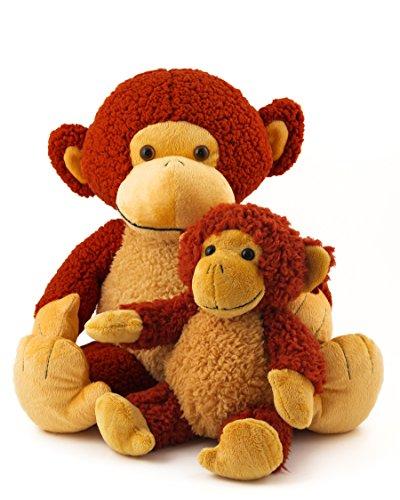 "20"" Mango the Monkey Plush plus BONUS 12"" Monkey Plush"