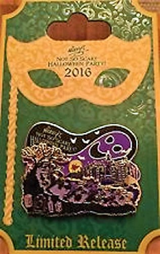 Disney Not So Scary Halloween Party 2016 Logo Pin (Scary Halloween Stores)
