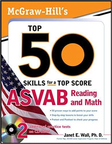 McGraw Hill S Top 50 Skills For A Top Score ASVAB Reading