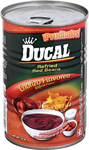 Ducal Refried Red Beans with Chorizo Flavor, 15 Ounce (Pack of 24) by Ducal (Image #4)