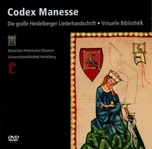 Codex Manesse - Die große Heidelberger Liederhandschrift - Virtuelle Bibliothek (DVD-ROM)