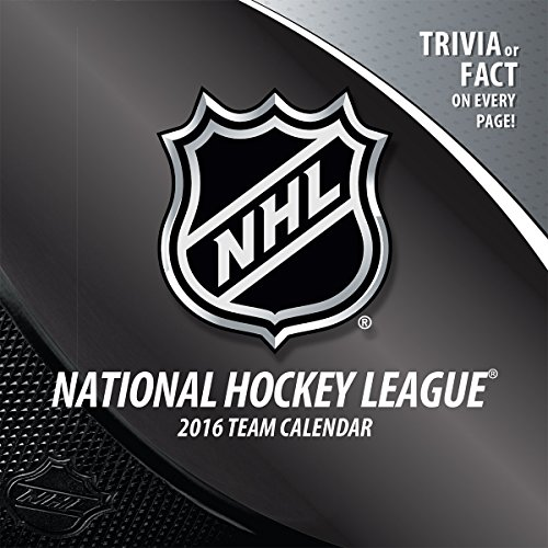 Team Box Calendar (Turner NHL All Team 2016 Box Calendar, January-December (8051466))