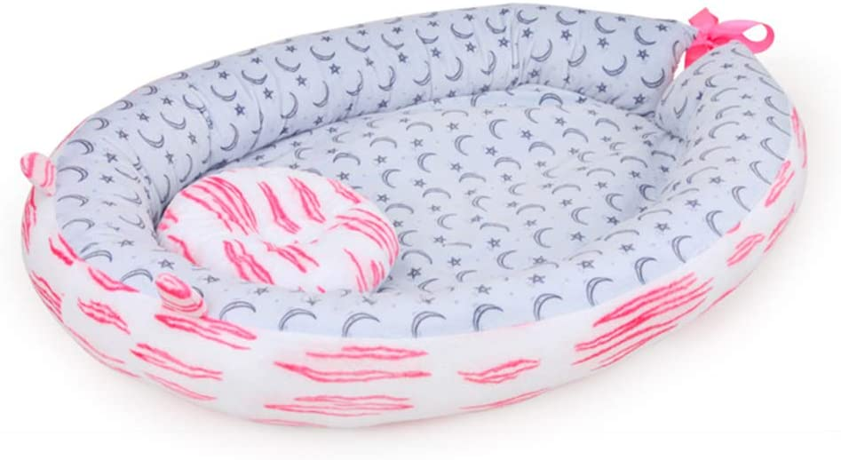 Portable and comfortable for 0-12 Months hereubuy Baby Sleep Pod Nest
