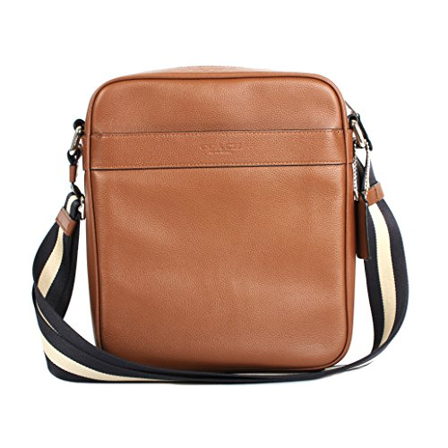 Coach Men's Flight Crossbody Bag (F54782) - Dk Saddle (Coach For Bag Flight Men)