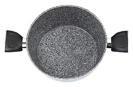 Jata Hogar BC4 Batería de Cocina, Aluminio Forjado, Gris, 24 cm ...