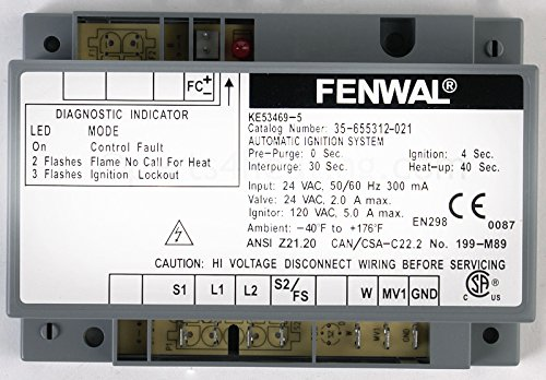 Fenwal Controls 35-655312-021 24V Ignition Module