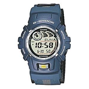 Casio G-Shock Reloj para Hombre con cronógrafo y Azul Correa de Resina g-2900V-2ver 7