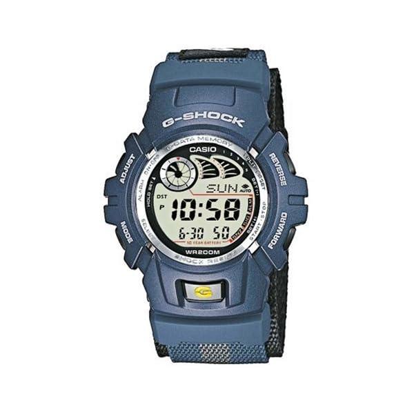 Casio G-Shock Reloj para Hombre con cronógrafo y Azul Correa de Resina g-2900V-2ver 2