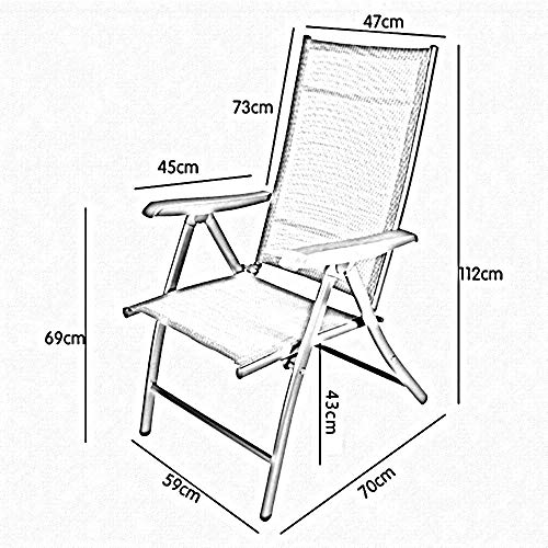 Price comparison product image XQY Dormitory Bed Chair,  Student Lazy Chair,  College Dormitory Artifact Folding Chairs Home Office Chair Computer Chairs Beach Chair Siesta Lounge Chair Sun Loungers,  Garden Chairs, Gray