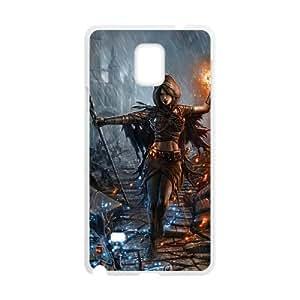 Dark Souls Samsung Galaxy Note 4 Cell Phone Case White DAVID-226740