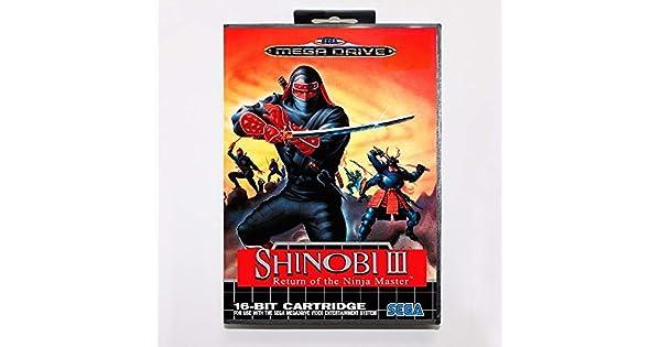Amazon.com: Shinobi Iii Return Of The Ninja Master Game ...