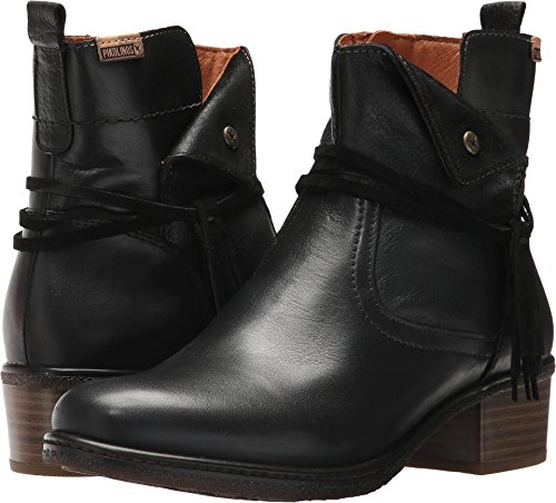 Cuir Zaragoza 35 Black Pikolinos Coloris Taille Matiere 6Ivvq