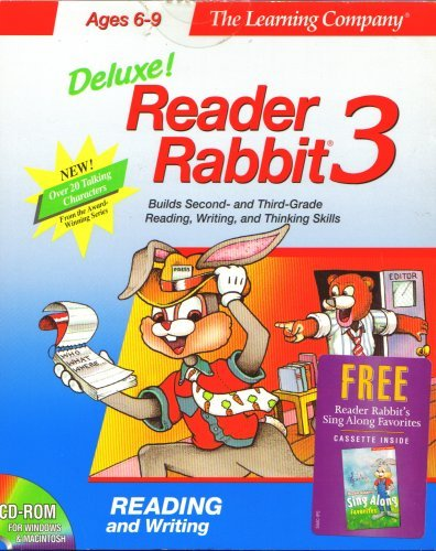 Deluxe! Reader Rabbit 3 by The Learning Company