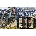 Zacro-Pedale-da-Ciclismo-Pedali-Bici-in-Alluminio-Ultra-Leggero-Antiscivolo-per-Bici-da-Strada-BMX-MTB-916