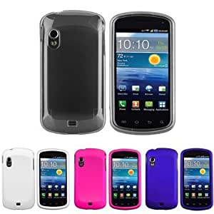 Quaroth CommonByte 4x Hard Cover Clear Crystal+White+Pink+Blue Case For Samsung Stratosphere i405