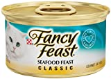 Purina Fancy Feast Classic Seafood Feast Cat Food - (24) 3 oz. Pull-top Can