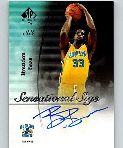 2005-06 SP Authentic Sensational Sigs #SS-BB Brandon Bass MINT Auto 07526