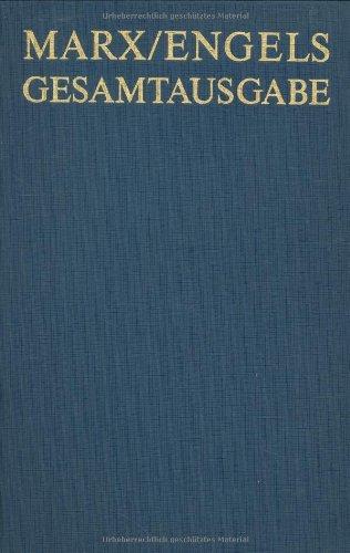 Karl Marx / Friedrich Engels: Exzerpte Und Notizen, 1843 Bis Januar 1845