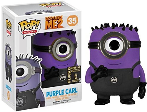 Funko Pop! Movies - Despicable Me 2 #35: Purple Carl - 2014 Funko Convention Exclusive