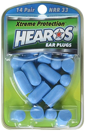 HEAROS Xtreme Ear plugs - Best In Class Noise Cancelling Disposable Foam Earplugs With NRR 32...