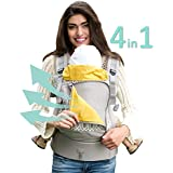 LILLEbaby 4 in 1 ESSENTIALS All Seasons Baby Carrier - Park Place