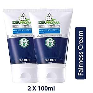 Dr. Neem Whitening Men's Fairness Cream- Pack of 2 (2 x100ml)