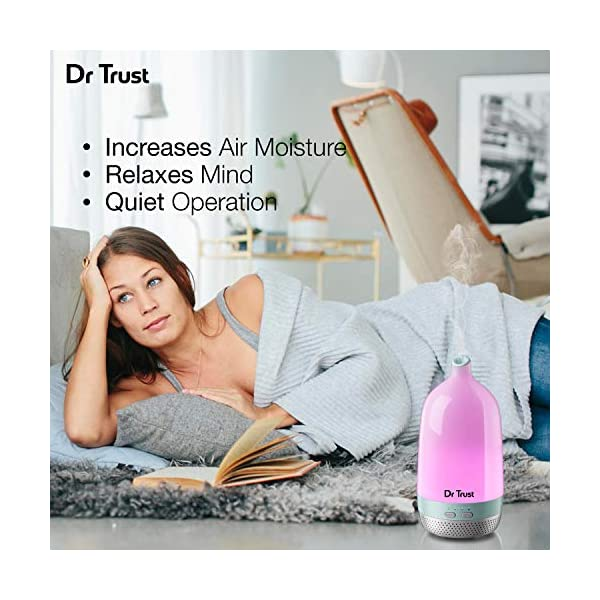 Dr. Trust Home Spa Luxury Home Office Cool Mist Aroma Oil Diffuser and Humidifier - 200 ml Perfumes