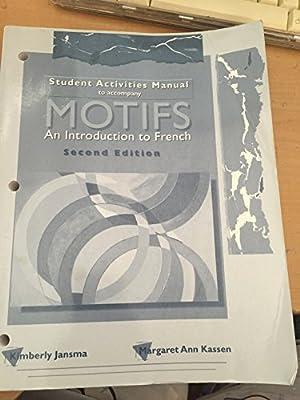 motifs student activity manual rh amazon com Kindergarten Student Manual BLS Student Manual