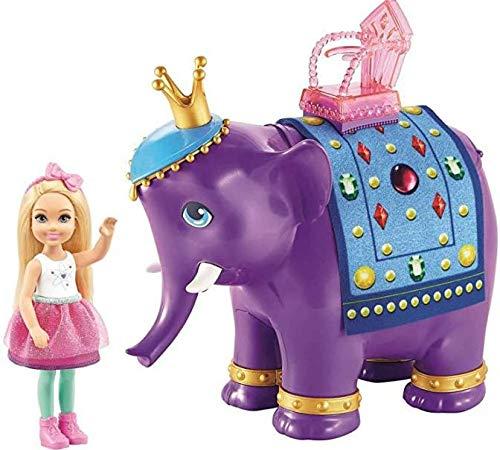 Barbie Chelsea E O Rei Elefante Mattel Loira