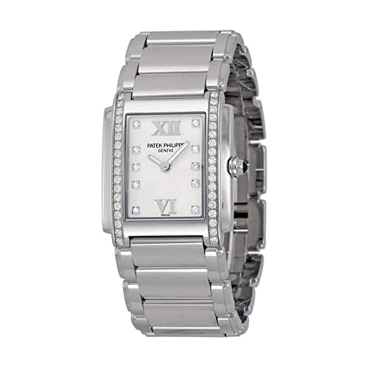 Patek Philippe Twenty 4 de las señoras reloj~4910-10A: Amazon.es: Relojes