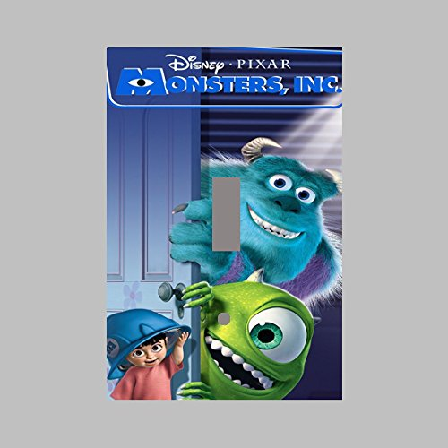 Amazoncom Monsters Inc Disney Pixar Single Light Switch Plate