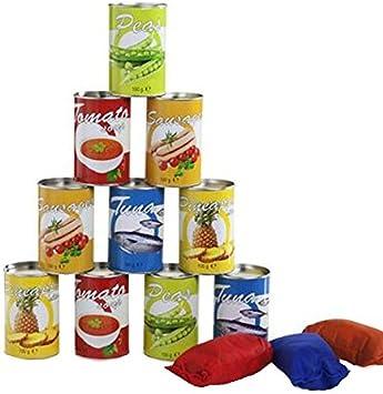 BS Toys- Volcar latas alimentos, Multicolor, talla única (BuitenSpeel B.V. GA260) , color/modelo surtido