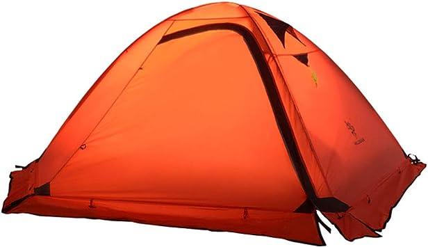 Tienda de campaña ultraligera para 2-3 personas, 4 estaciones a prueba de agua y a prueba de viento tienda de campaña, tienda de campaña anti-tormenta para refugio de camping al aire libre,Red: