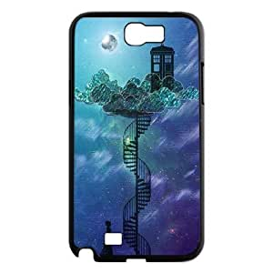 James-Bagg Phone case - TV Show Doctor Who & Police Box Pattern Protective Case For Samsung Galaxy Note 2 Case Style-19 hjbrhga1544