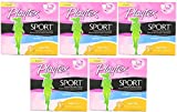 Playtex Sport WMhoU Tampons with Flex-Fit Technology, Super Plus, Unscented, 36 Count (5 Pack)