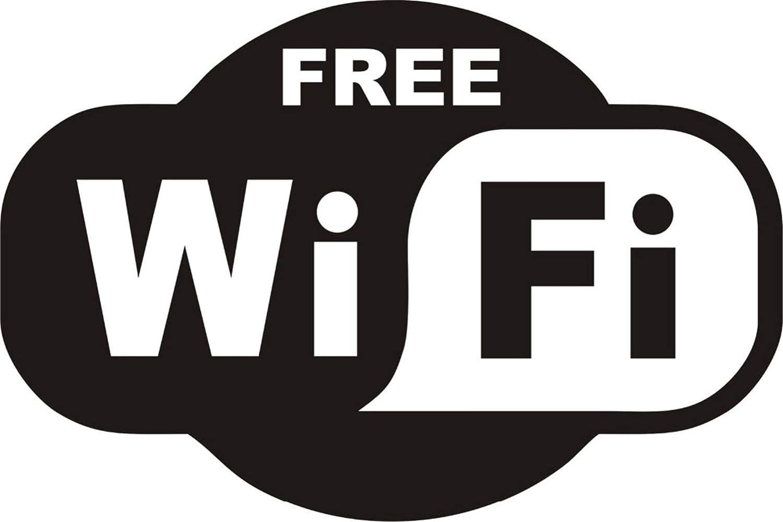 pegatina de pared Wifi gratis Pegatina Cartel Ventana Café ...