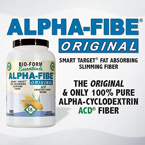 Alpha-Fibe Original ACD Smart Weight Loss Fiber (180 Fast-Acting Capsules) By Bio-Form