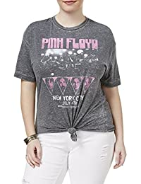 Womens Plus Graphic Short Sleeves T-Shirt