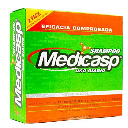 Medicasp Shampoo anticaspa, el mejor tratamiento antihongo capilar.