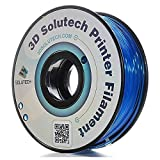 3D Solutech See Through Blue 1.75mm PETG 3D Printer Filament 2.2 LBS (1.0KG)