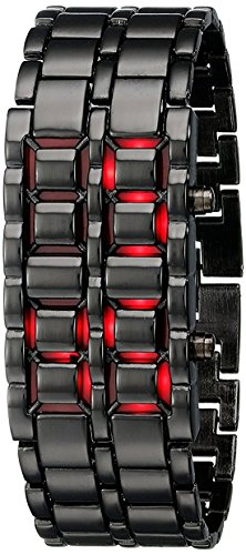 Scarter Digital Men's Watch (Black Colored Strap)