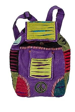 Amazon Com Bohemian Razor Cut Handmade Backpack Casual