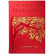 TO KILL A MOCKINGBIRD by Harper Lee special edition in Red French Calfskin Leather -