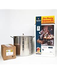 Brewer S Best Deluxe Equipment Kit W Better Bottle With 42 Qt Stainless Steel Brew Kettle And Chicago Brew Werks 5 Gallon Ingredient Kit Pineapple Express