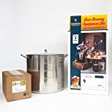 Brewer's Best Deluxe Equipment Kit (w/ Better Bottle) with 42 Qt Stainless Steel Brew Kettle and Chicago Brew Werks 5 Gallon Ingredient Kit: Supergalactic