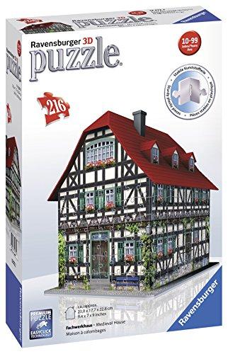 Ravensburger Medieval House - 3D Puzzle (216-Piece)