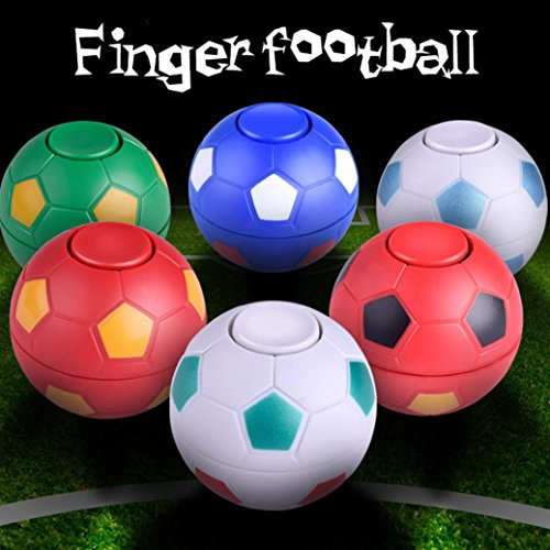 fan products of DZT1968 Random Mini Finger Football Game Hand Spinner Focus Disease Anti Stress Toy Gyro Toy